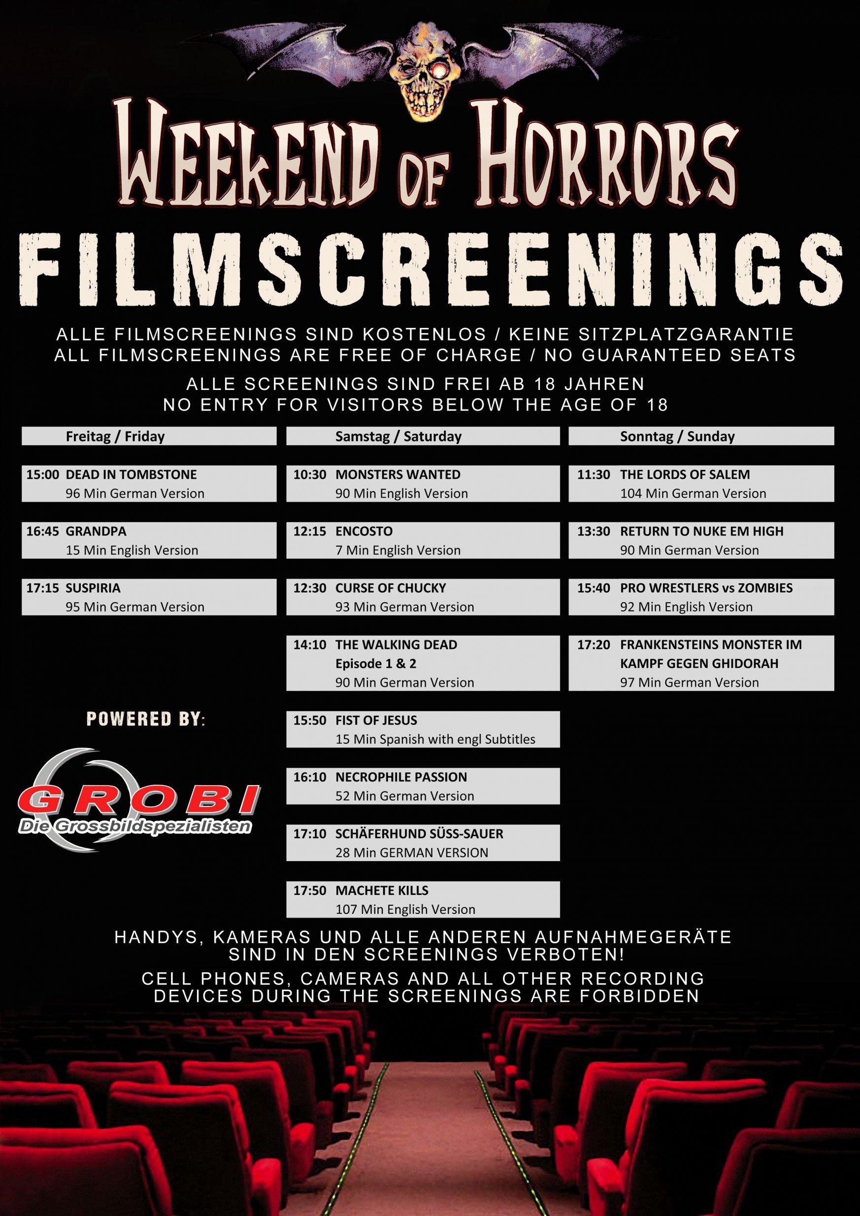 Filmscreenings
